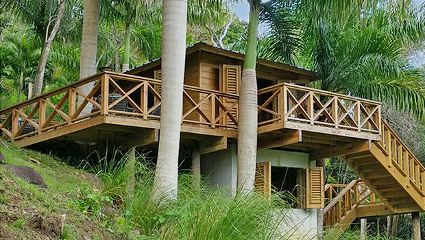 """La Cascada treehouse in PR."""